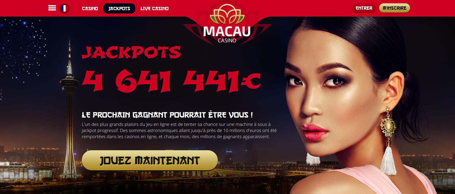 Macao Casino : le casino qui comblera tous les joueurs Français !